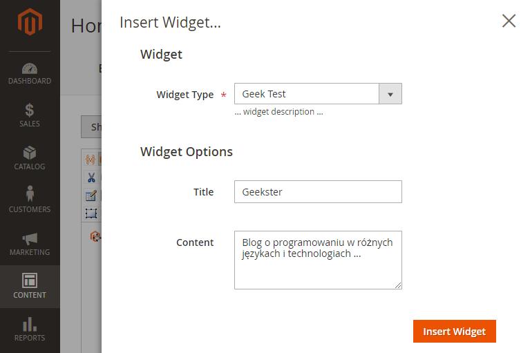 własny widget w magento 2
