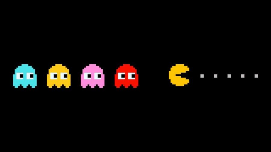 PacMan gra